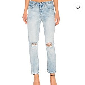 Blank NYC Personal Drainer distressed jean